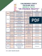 Calendarización 2015