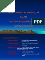Tajuk 2 - Teori Dan Model Kurikulum