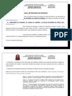 ORIENTAÇÕES TÉCNICAS  DE PESQUISA NO SIAFISICO