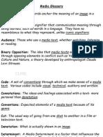 Media Terminology Glossary