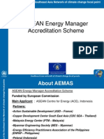 ASEAN Energy Manager Accreditation Scheme