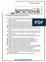 March - Booster15