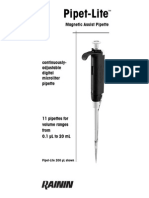 Pipet Lite Manual