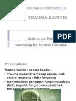 Ppt Trauma Kapitis