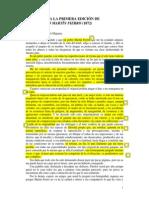 Prologos de Las Ediciones de Martin Fierro