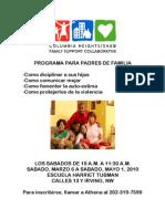 Programa Para Padres de Familia