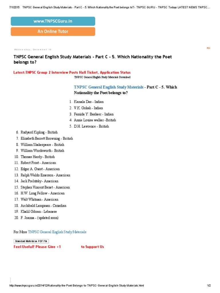 TNPSC General English Study Materials - Part C - 5.pdf