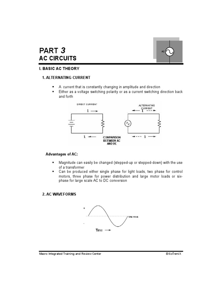 Ac Circuits Power Electrical Impedance Load Is Large The Use Of Current Transformer