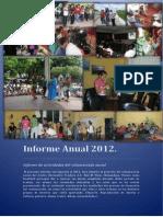 SRF 2012 Report of activities of social volunteering
