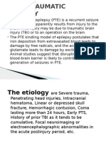 pneumonia Post Traumatic Epilepsy