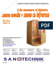Sauna Calipso H60114 RO