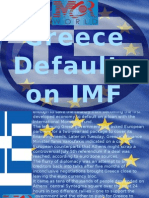Greece Defaults on IMF Payment Despite Last-Minute Overtures to Creditors