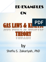 Gas Laws Kinetic Theory SSZakariyah 2013
