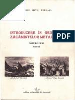 Introducere in Geologia Zacaminelor Metalifere_Sorin Udubasa_2008