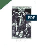 Masonic Bookplates - W Prestcott Text