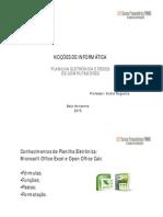 Redes de computadores e Planilha eletrônica