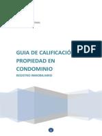 Guia de Calificacion de Propiedad en Condominio - Costa Rica
