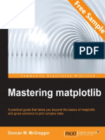 Mastering matplotlib - Sample Chapter