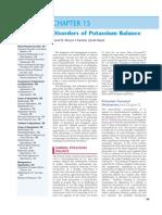 15. Disorders of Potassium Balance