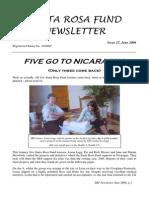Santa Rosa Fund Newsletter Issue 27