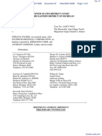 Haddad v. Indiana Pacers et al - Document No. 47