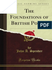 the Foundations of British Policy 9781451013719