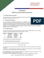 Note de Calcul Indice 1