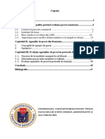 Agentiile de Presa Din Romania in Secolul XX