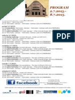 Program Kina Urania 2.7.-8.7.2015