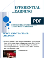 Differential Learning