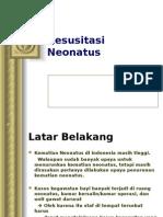 Resusitasi Neonatus