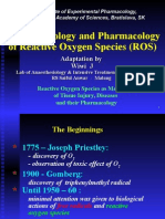 Path o Physiology and Pharmacology of Reactive Oxygen Species