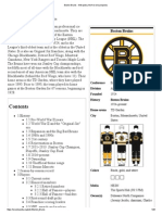 Boston Bruins - Wikipedia, The Free Encyclopedia