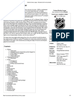 National Hockey League - Wikipedia, The Free Encyclopedia
