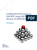 Whitepaper on Loading Data From Legacy to SAP Using BODS