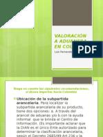 Valoración a Aduanera en Colombia