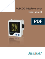 AcuDC 240 User's Manual