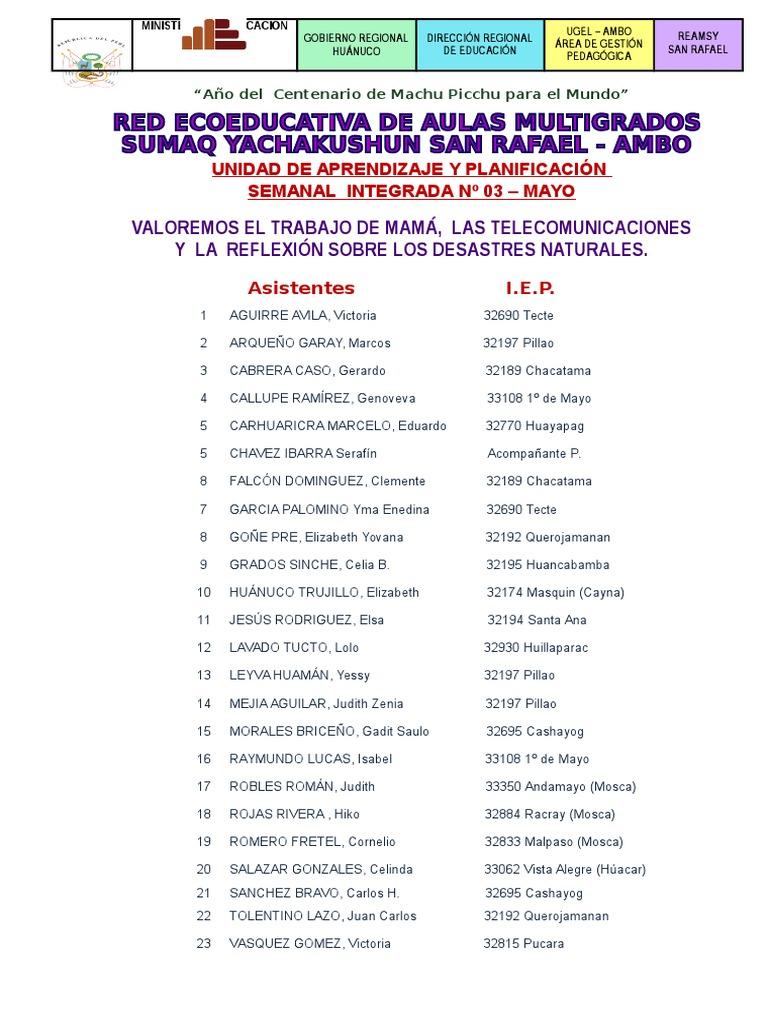 0. Unidad Mayo