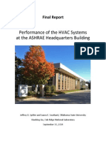 Final Report ASHRAE HVAC System Comparison