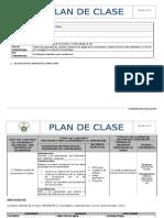 Plan de Clase 1ro de Bachillerato