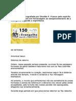 Mensagem Amelia Rodrigues - 150 ANOS EVSE