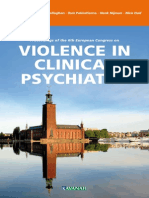 Proceedings 6th Violence in Clinical Psychiatry 2009