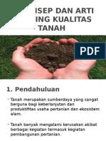 Kualitas Tanah
