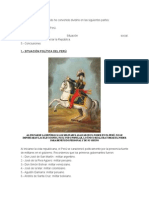 Republica Del Peru Inicios