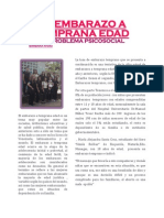El Embarazo a Temprana Edad (Reportaje) PDF