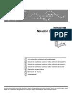 Manual de solucion de problemas copiadora de planos ricoh