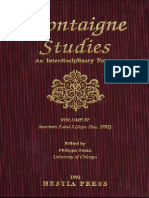 Montaigne Studies 4