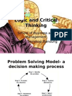 Logic and Critical Thinking - Root Cause Analysis Rev 1.0