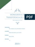 Monografia Transferncia- Intercambiador de Calor