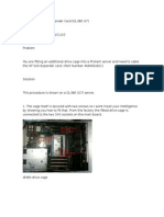 Fitting an HP SAS Expander Card and Drive Cage